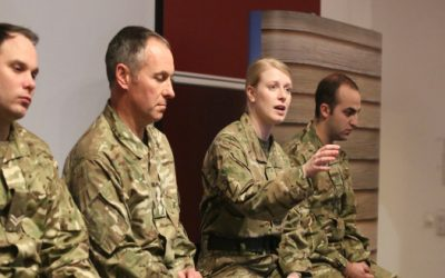 Is the debate over the new Army recruitment adverts taking attention away from the real issues?